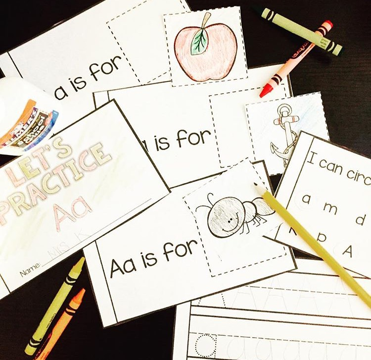 alphabet literacy center ideas